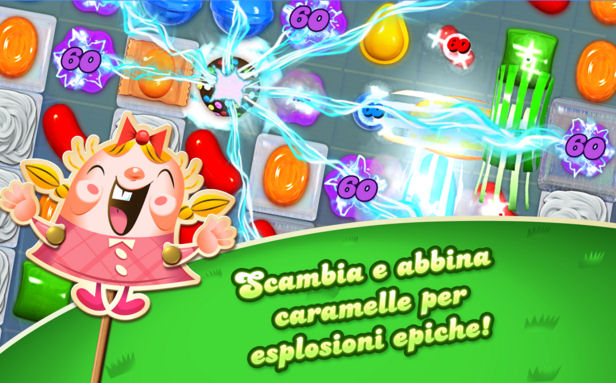 Le caramelle speciali in candy crush saga