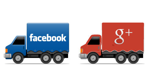 Confronto Facebook Google+